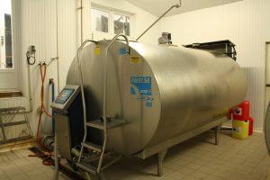 Tank lait cru - la renaudais - Plouer sur Rance